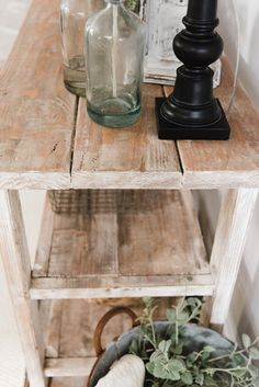 DIY Farmhouse Dining Room buffet - Could be a great TV console, sofa table, entryway table, kitchen island, & so much more! Great tutorial and farmhouse style decor inspiration!