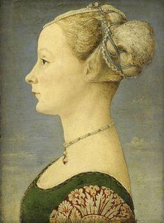 De verschillende portretten van jonge dames, die Antonio en Piero del Pollaiuolo vervaardigden in hun atelier in Florence, zijn nu weer samen te bewonderen!