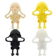 Skull usb flash drives 4GB 8GB 16GB 32GB 64GB //Price: $9.95 & FREE Shipping //     #skulllover
