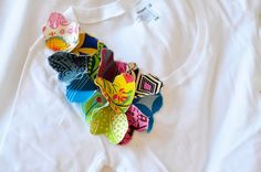 How To: Ruffle Corsage Shirt  http://mysparkle.blogspot.com/2009/07/how-to-ruffle-corsage-shirt.html