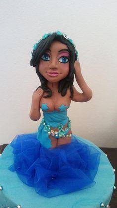 Topper brasiliana  - Cake by Monica