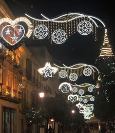 In old Jerez town and the zambombas are in full swing. Read more here. Cadiz, Andalucia, Saturday Night, Christmas Lights, Christmas Fairy Lights