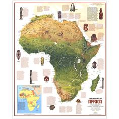 1971 Ethnolinguistic Map of the Peoples of Africa