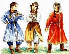 Hungarian ladies in the century Historical Women, Historical Clothing, Middle Ages Clothing, Hungarian Women, Costumes Around The World, Coats For Women, Clothes For Women, Early Middle Ages, Folk Costume