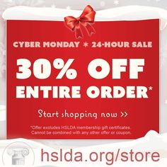 Cyber Monday is here! Get 30% your entire order in our online bookstore now >>