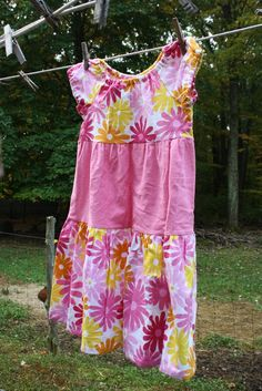 Little Girls size 6 Flannel Nightgown