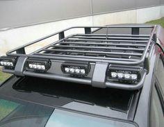 Roof Rack with Rollbar Suzuki Jimny, Jeep Jk, Offroad, Truck Roof Rack, Navara D40, Kombi Motorhome, Pajero Sport, Truck Mods, Grand Vitara