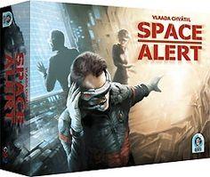 Space Alert : Très bon jeu coopératif, qui se joue dans l'urgence... 10 minutes pour éliminer les menaces qui arrivent vers le vaisseau spatial...