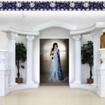 ( http://www.storenvy.com/products/17255451-elegant-lavender-blue-indigo-bridal-lehenga )    Item+#+WDL-5  Look+absolutely+stunning+in+this+eye-catching+choli+on+your+special+day.+Ensemble+is+pure+elegance+that+will+catch+everyone's+attention+when+you+walk-in.+Available+in+custom+fit+tailoring+Just+4+U++®+out+of+the+fashion+house+of+the+UK.+Photography+by+Irfan+Ahson+I+Make-up+by+Mriam...