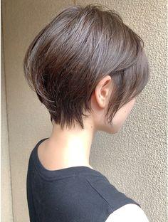 Very Short Haircuts, Short Hairstyles For Thick Hair, Haircut For Thick Hair, Short Hair Styles, Thin Hair Cuts, Cut My Hair, Japanese Haircut, Androgynous Hair, Cabello Hair