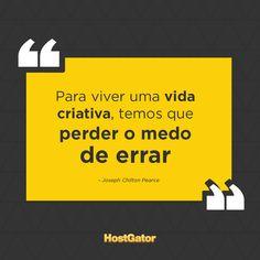 Perder o medo pode ser o primeiro passo para muitas oportunidades ;) #Frases #Quotes
