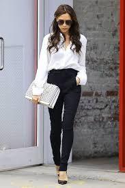Resultado de imagen para outfit blusa blanca manga larga