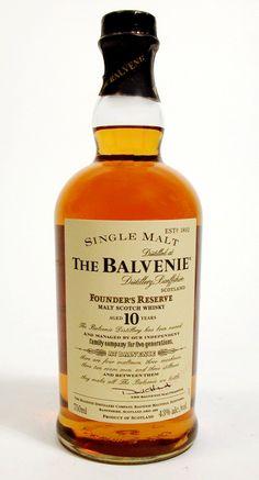 The Balvenie Founder's Reserve 10. Now discontinued - a real shame.  [Single Malt Scotch Whisky]