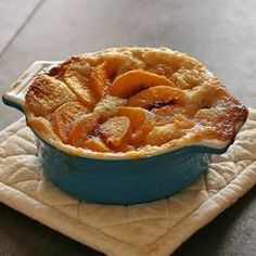 Kelley's Peach Cobbler Allrecipes.com