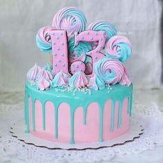 Birthday cake ideas fondant buttercream icing 59 New Ideas - Food - kuchen kindergeburtstag Birthday Cakes Girls Kids, Cupcake Birthday Cake, Birthday Cake Decorating, Cool Birthday Cakes, Cupcake Cakes, Fondant Icing, Male Birthday, 13th Birthday, Teen Cakes