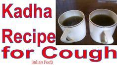 Kadha Recipe for cough in hindi