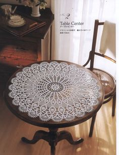 Japanese crochet doily patterns Housewarming home decor ebook Crochet Doily Diagram, Crochet Doily Patterns, Thread Crochet, Filet Crochet, Lace Patterns, Dress Patterns, Crochet Tablecloth, Round Tablecloth, Crochet Home