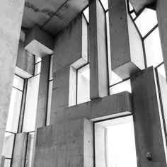 Wotruba Church interior Architect: Fritz Wotruba built between 1974- 76