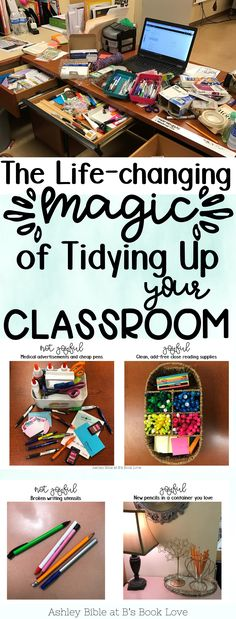 The Life-changing Magic of Tidying Up Your Classroom: How to declutter your classroom using the Konmari method