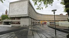 Gi Y-blokken en ny sjanse - Aftenposten Oslo, Norway, Sidewalk, Louvre, Building, Travel, Walkway, Voyage, Buildings