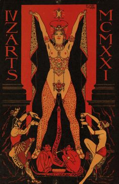 All Things Esoteric /Occult/Witchcraft and a Healthy Dose of Rock and Roll/Art Nouveau/Illustration/Vintage & Literary Erotica & Underground Countercultures + David Bowie is My Religion: I'm Just a Space Cadet. Baphomet, Poster Mural, Aleister Crowley, Psy Art, Occult Art, Vintage Poster, Art Deco Posters, Z Arts, Archetypes
