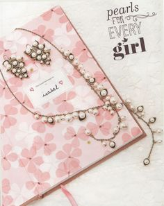 Pearls for every girl!  http://valeriesoule.chloeandisabel.com