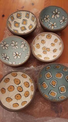 Ceramic Tableware, Ceramic Clay, Ceramic Painting, Ceramic Bowls, Slab Pottery, Pottery Bowls, Ceramic Pottery, Pottery Painting Designs, Pottery Designs
