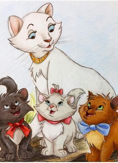 Disney art drawings cartoon characters 59 new Ideas Drawing Cartoon Characters, Character Drawing, Cartoon Drawings, Art Drawings, Disney Cats, Disney Cartoons, Walt Disney Characters, Disney Movies, Lilo Et Stitch