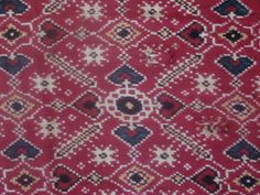 Vora Gaji Patola- Double Ikat from Patan, Gujarat, India