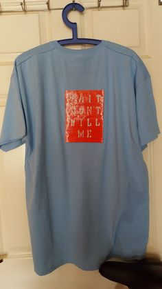 Next X Large (XL) Size Sky Blue short sleeved T-shirt with a Red Hivis  Reflective sticker affixed to the back. The Hivis Reflective sticker is  14cm x 18cm ... 29ad68b8d98f
