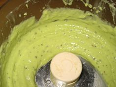 Creamy avocado pasta sauce - with no cream! Blend garlic, lemon juice, olive oil, avocado, and basil in food processor.