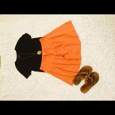 """Skirt This is a drawstring style skirt. Super cute and comfortable! I'd say the closest color is a brownish-orange. 16"""" in length! Mossimo Supply Co Skirts Mini"""