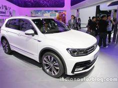 Slideshow : Auto China: VW Tiguan on display - Volkswagen displays 2016 VW Tiguan at Auto China 2016 - The Economic Times
