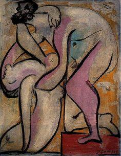 "By Pablo Picasso, 1932, ""Le sauvetage I""."