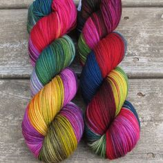 Perfectly Wreckless - Kaweah - Babette | Miss Babs Hand-Dyed Yarns & Fibers, Inc.