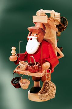 KWO German Full Size Smokers Christmas and Winter Figures Christmas In Germany, German Christmas, Nutcracker Christmas, Christmas Ornaments, Nutcrackers, All Craft, Wooden Art, Smokers, Snowmen