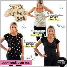 ¡Más por menos $$$! ¡Aprovechá estas ofertas! ➜ www.tiendadcm.com/products/list/brand/20937