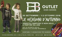 Le occasioni d'autunno presso Eb Shoes Outlet!