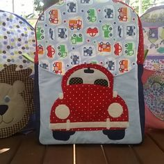 mochila infantil em patchwork - Pesquisa Google