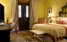 Hotel El Convento, Puerto Rico -This hotel is located in the heart of historic Old San Juan, Puerto Rico. Hotel guests will receive beach privileges at the El Convento Beach Club on Isla Verde Beach. Hotel El Convento is housed in a restored 350-year old building.