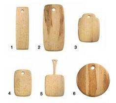 Cutting Boards Edward Wohl Birds-Eye Maple Various Sizes