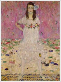 Gustav Klimtメーダ・プリマヴェージの肖像