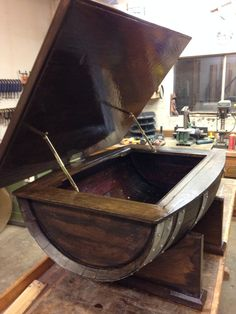 wine barrel coffee table plans - google search   whiskey barrels
