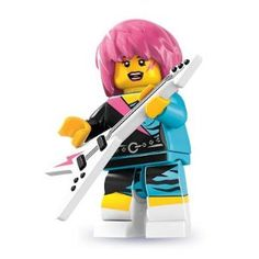 Lego Minifigure Rocker Girl