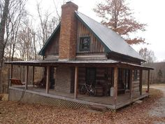 Small Cabin Interiors | log cabin dovetail notches - Small Cabin Forum