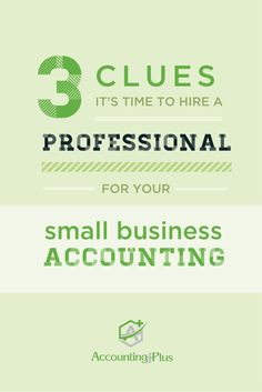 37 best accounting and taxation services images on pinterest how to know when you need to hire a professional for small business accounting fandeluxe Images