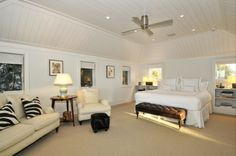 East Hampton - Town & Country Real Estate #hamptons #bedroom #homedecor