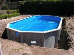 Het bouwen van uw metalen foliebad (fotoserie) | Zelf uw zwembad bouwen? Interline!