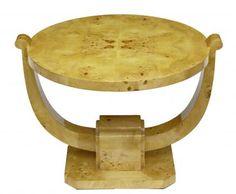 Art Deco Furniture | photo of art deco walnut coffee table 1920s vintage furniture art deco ...