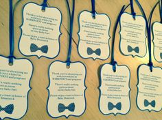 Barefoot and Pregnant Wine Label or Favor Tags by ThePinkPapermill